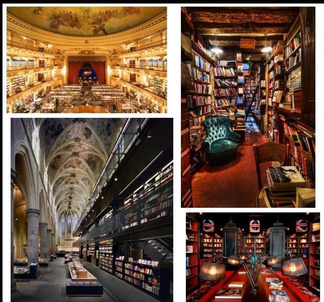 Le 20 librerie piu' belle del mondo