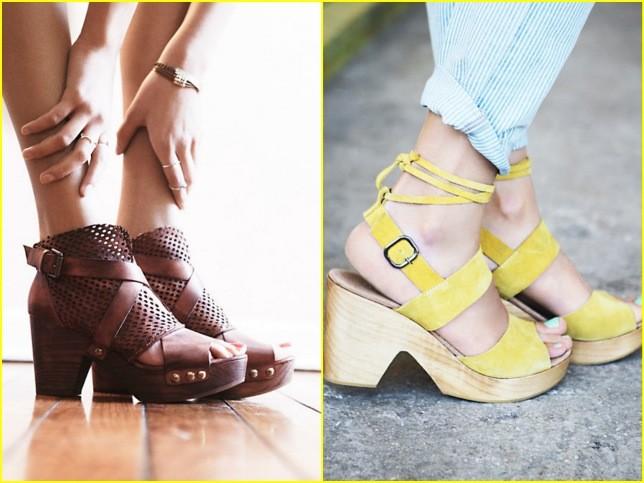 Classici in cuoio o super colorati, gli zoccoli sono un altro trend della primavera estate 2014