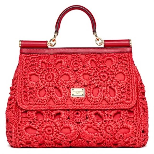 Borsa in rafia_Dolce&Gabbana