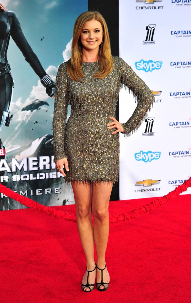 Emily VanCamp, star della serie Revenge, nel cast di Capitan America