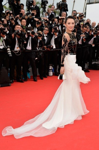 Zhang Ziyi in Stèphane Rolland Couture
