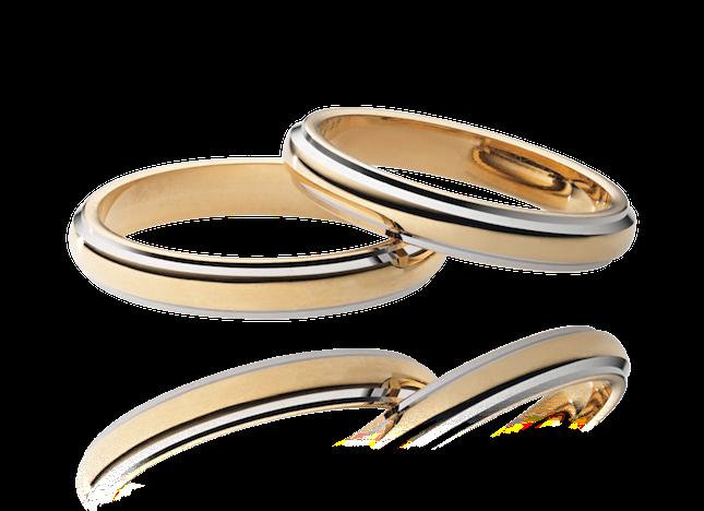 GOLD COLLECTION fedi in oro giallo e bianco_ Stroilli Oro