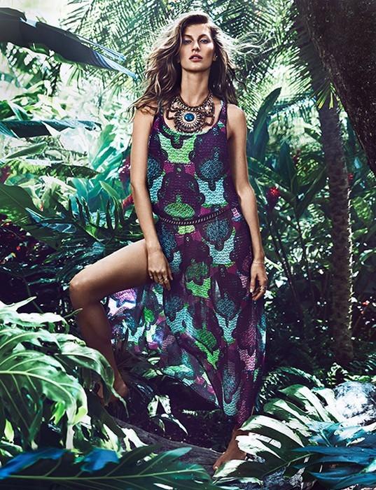 Gisele Bundchen per H&M primavera-estate 2014