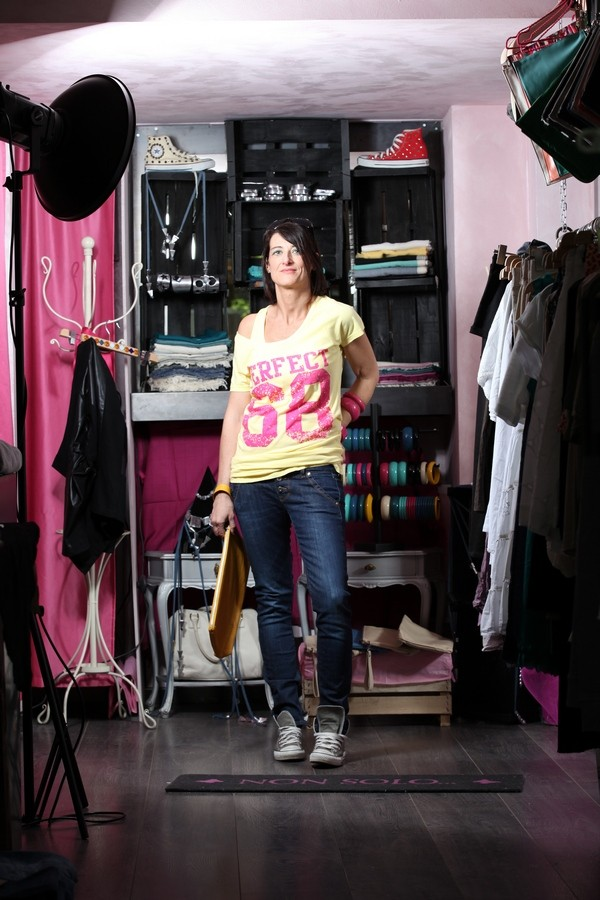 Luisa - canotta e maglia sportiva coordinate per un look fresco e informale