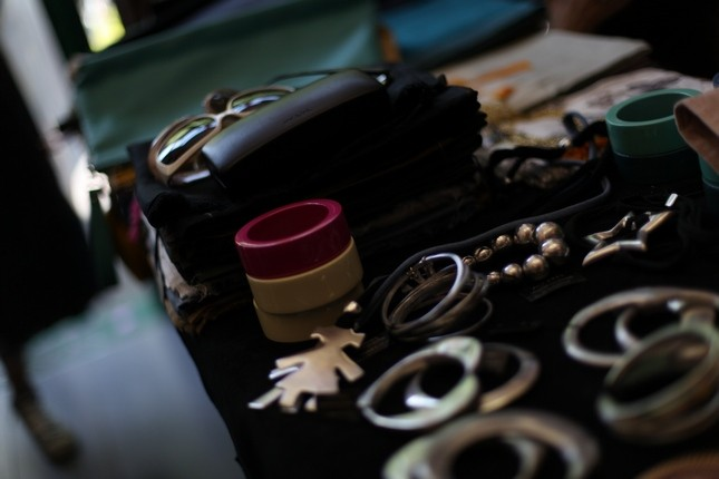 Alcuni degli accessori che Miriam Fucili ha utilizzato per completare gli outfit della redazione