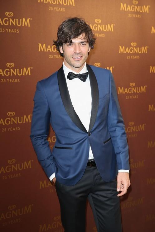 Luca Argentero al party di Magnum