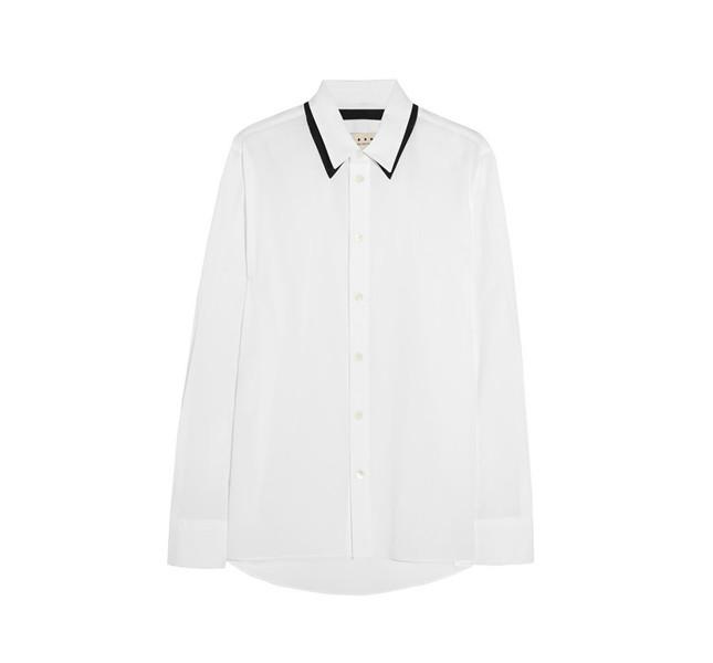 Marni camicia bianco