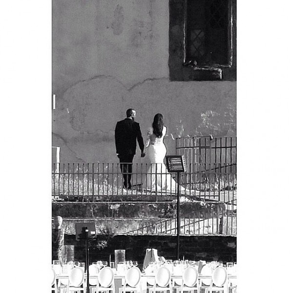 Gli sposi. Credits: instagram