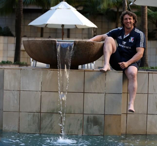 Mauro Bergamasco a Durban, South Africa