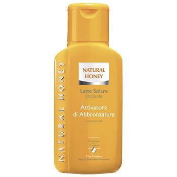Natural Honey Latte Solare Idratante Attivatore di Abbronzatura Spf 6