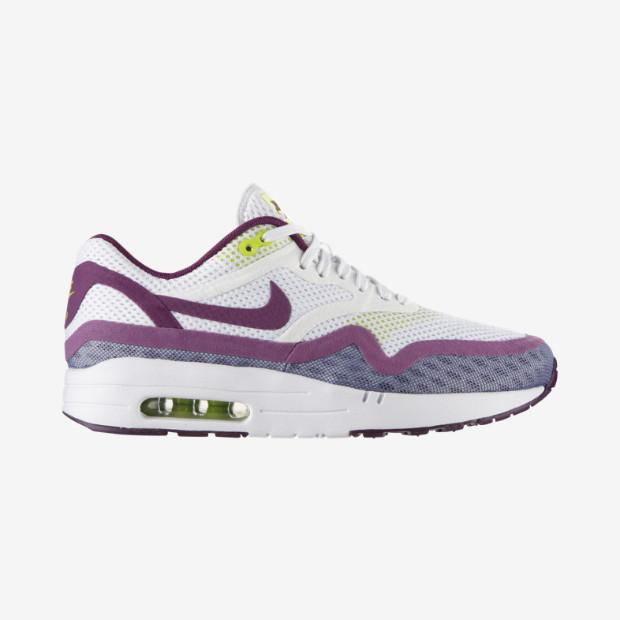 Nike Ai -Max 1 Breathe_ scarpa bianca con dettagli fluo