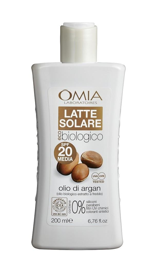 OMIA EcoBioSun Latte Solare - SPF 20