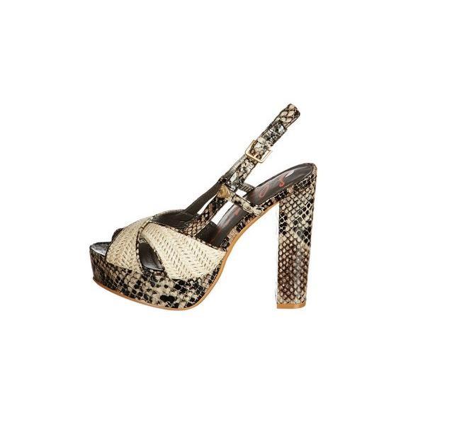 Sandalo con stampa rettile, Lollipops