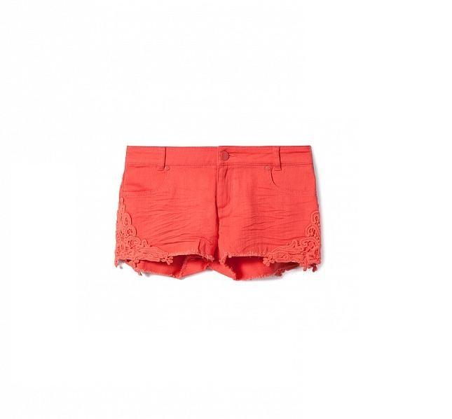 Shorts arancioni