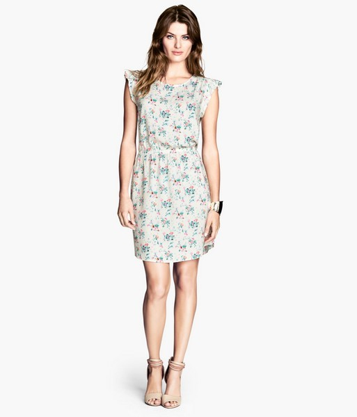 Vestito con fiorellini H&M