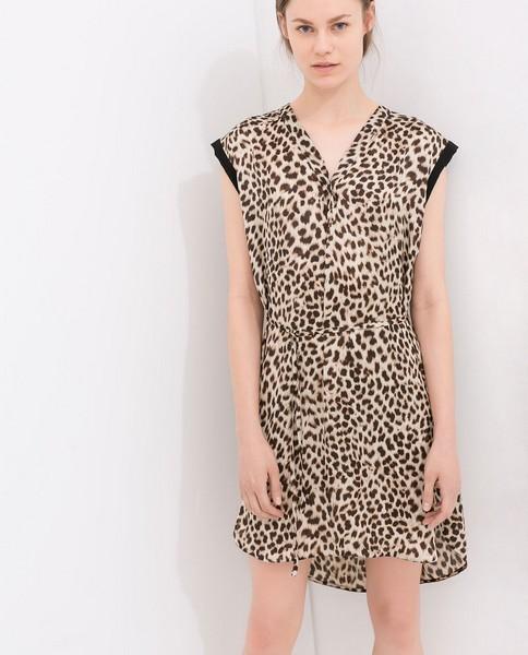 Vestito animaler Zara