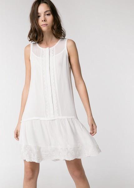 Vestito bianco Mango