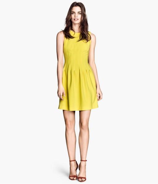 Vestito giallo H&M