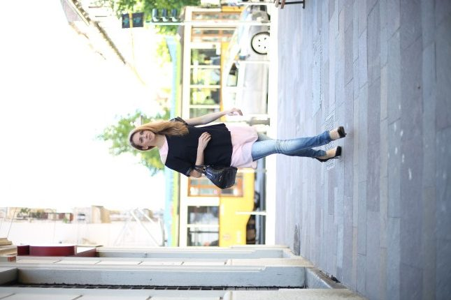 Silvia - outfit casual chic