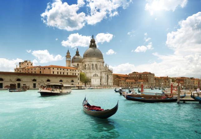 Venezia, il Canal Grande e la Basilica di Santa Maria della Salute