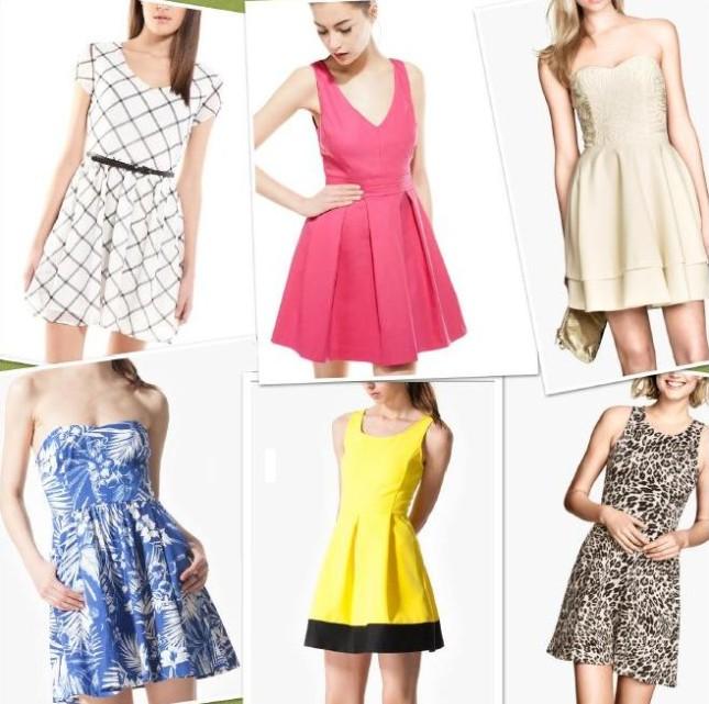 Tutti i vestiti di tendenza per la primavera-estate 2014