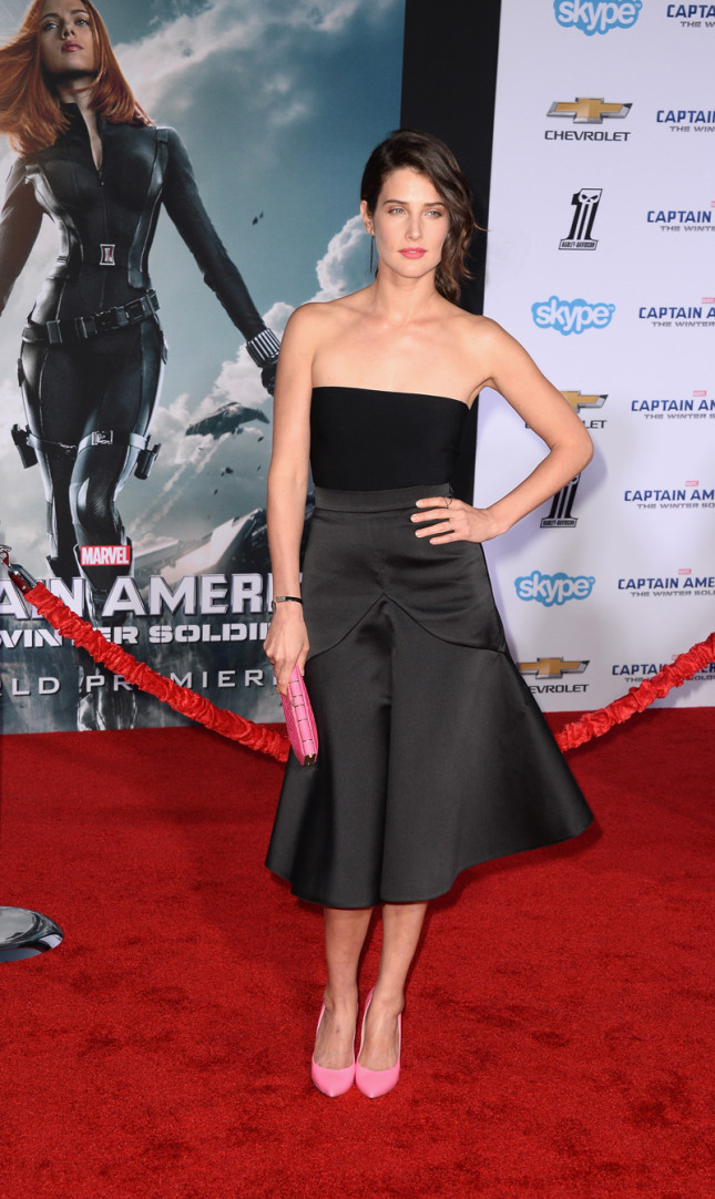 Cobie Smulders è l'agente Maria Hill