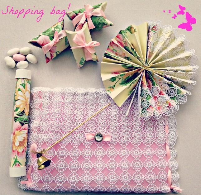 Ecco la tua wedding bag con i suoi preziosissimi accessori, pronta per stupire tutti i tuoi invitati?