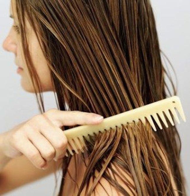 Bisogna prendersi cura dei capelli molto spesso