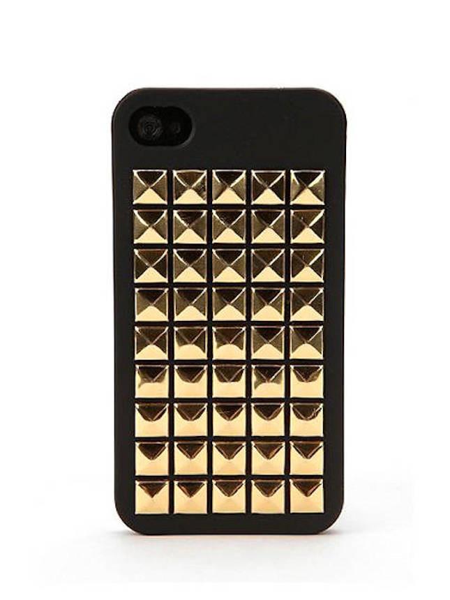 Cover per smartphone con borchie