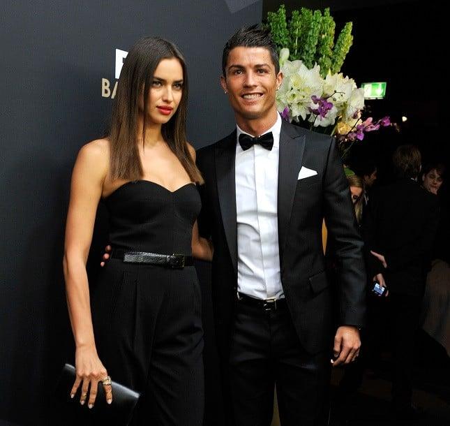 Cristiano Ronaldo e Irina Shayk al FIFA Ballon d'Or Gala 2012