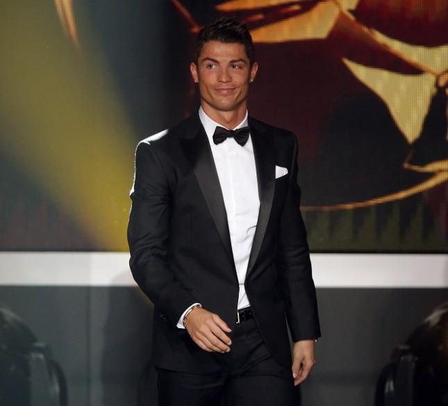Cristiano Ronaldo al FIFA Ballon d'Or Gala 2012 di Zurigo