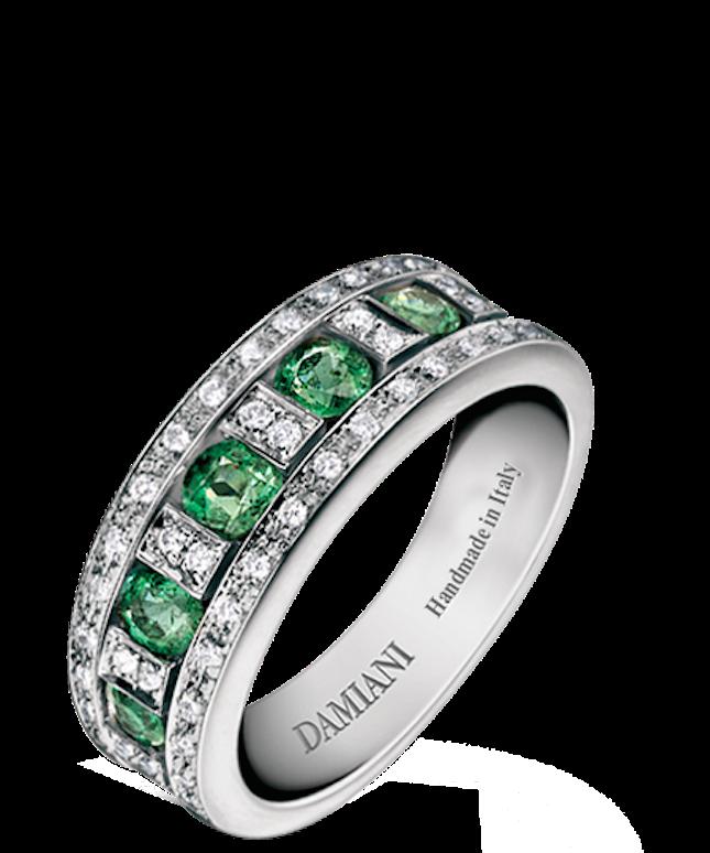 Anello di smeraldi