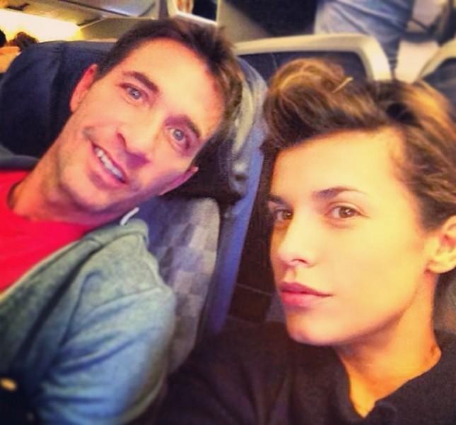Elisabetta Canalis  con il compagno Brian Perri