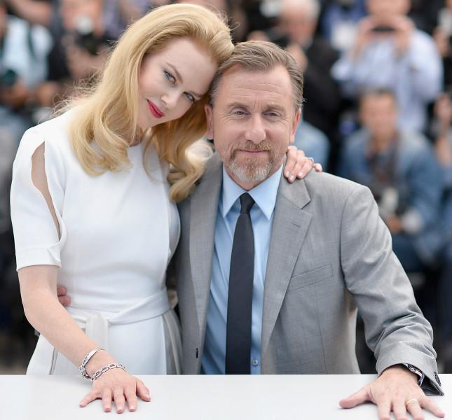 Nicole Kidman e Tim Roth alla presentazione di Grace di Monaco a Cannes