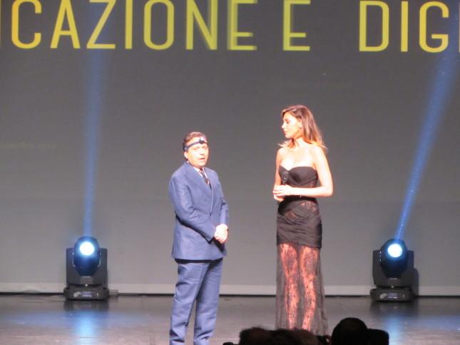 Piero Chiambretti e Belen Rodriguez