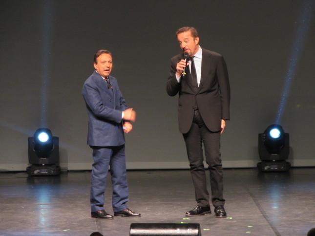 Piero Chiambretti e Cristian De Sica