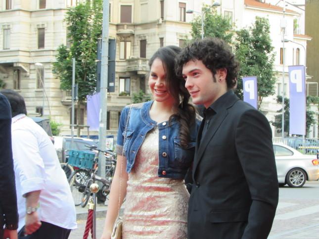 Giulia Muzi e Davide Merlini, protagonisti del musical Romeo e Giulietta