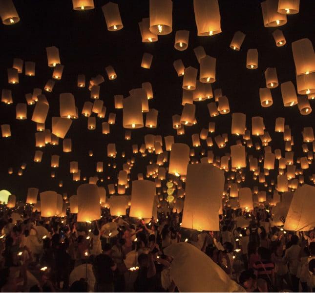 Per ogni anno di matrimonio... una lanterna! Che ne dite!?  e la magia è assicurata!