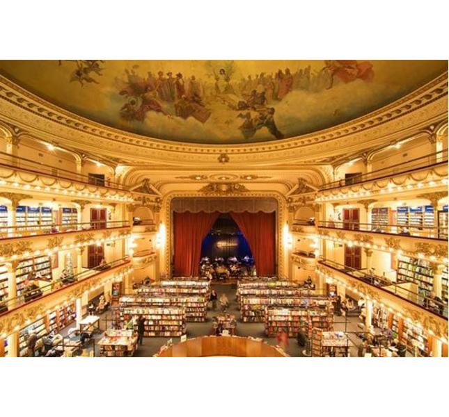libreria El Ateneo Grand Splendid - Buenos Aires