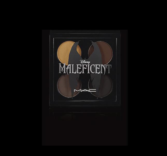 La palette di ombretti della linea Maleficient by MAC Cosmetics