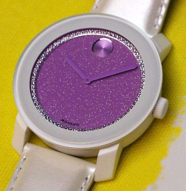 Orologio con dettaglio Radiant Orchid_Movado