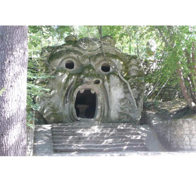 Parco dei Mostri (Bomarzo, VT) / photo: Workflo @ Flickr
