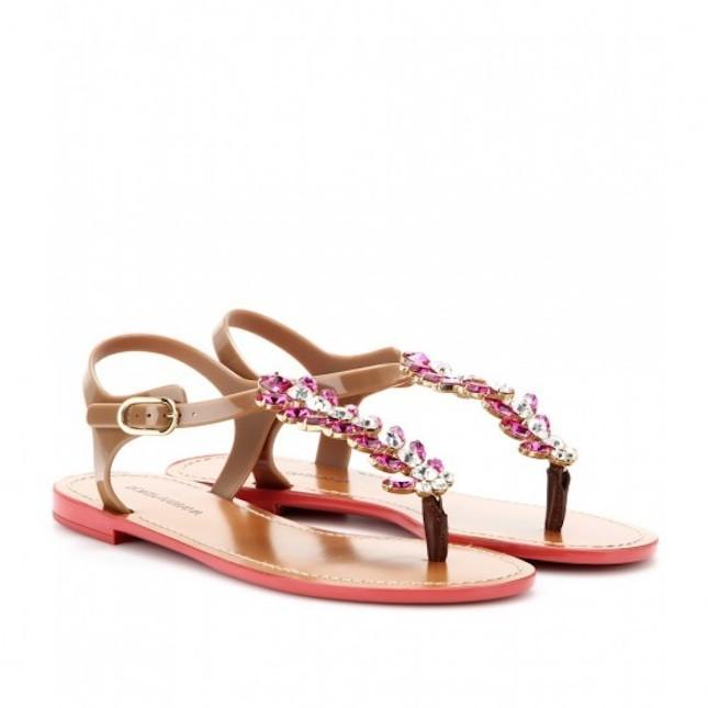 Sandali bassi per l'estate 2014_Dolce&Gabbana