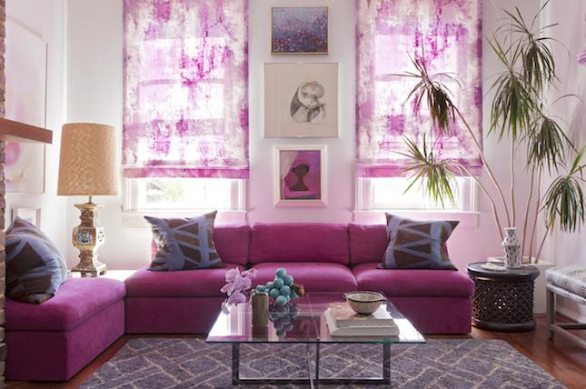Il radiant orchid ravviva la stanza regalando luce e armonia