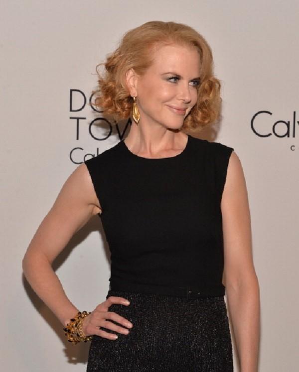 Nicole Kidman con un caschetto mosso