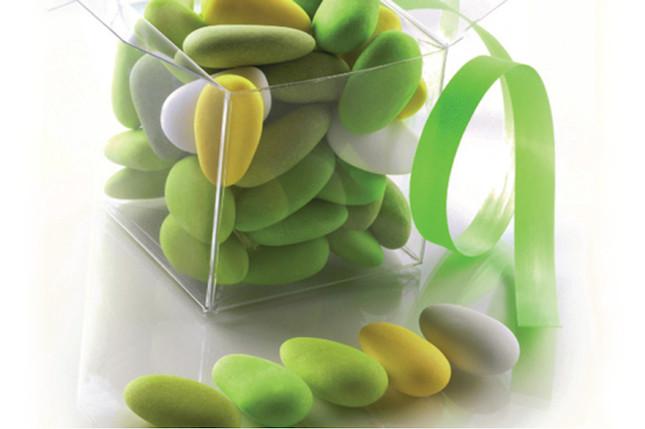 Per il fidanzamento ed il 18° compleanno meglio scegliere confetti verdi