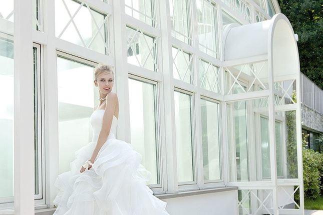 Elisabetta Polignano_abito da sposa  senza spalline