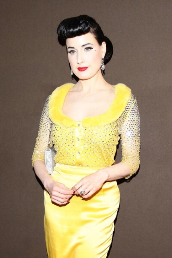 Dita von Teese al Fendi Party per il Festival di Cannes 2014