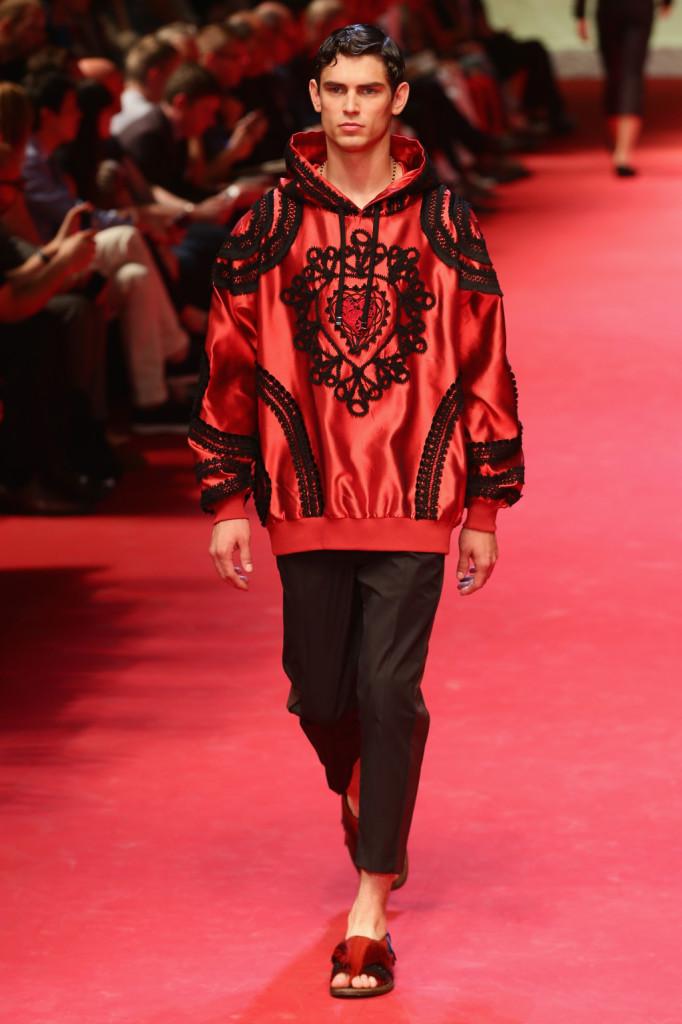 Milano Moda Uomo: la collezione Dolce e Gabban Spring/Summer 2015