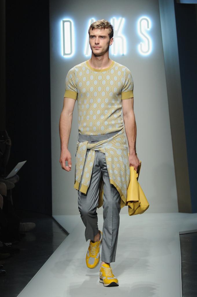 Milano Moda Uomo: la collezione Daks Spring/Summer 2015